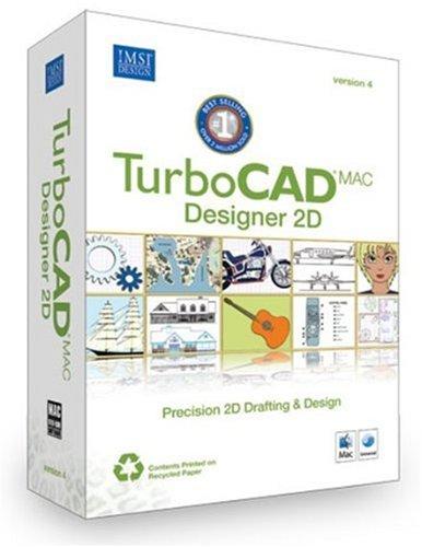 TurboCAD Mac Designer 2D Version 4 [import anglais]