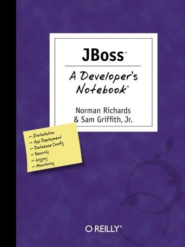 JBoss: A Developer s Notebook