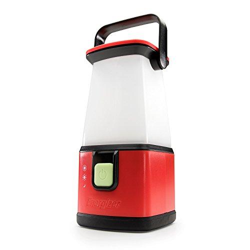 Energizer MAX Alkaline Camping Lantaarn (Batterijen niet inbegrepen) Rood