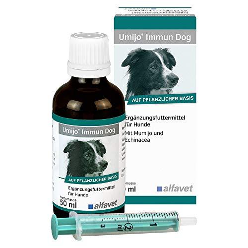 Umijo Immun Dog - Unidad: 50 ml - Complemento alimenticio para perros con mumijo y equinácea