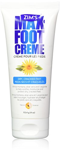 Zim's Crack Creme for Heels and Feet, 4.8 Ounce, Packaging May Vary by Zim's Crack Creme