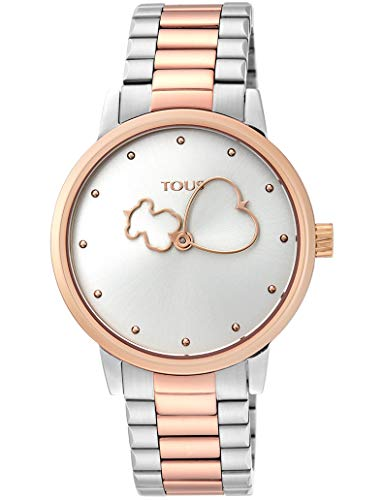 Reloj TOUS BEAR TIME SS/IPG 900350315 mujer bicolor