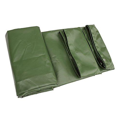 HQCC Toile imperméable double face pour usage intensif, grande tente, auvent, abat-jour de soleil pour pique-nique, bâche pour sol, feuille de protection du tapis de protection contre la pluie, tissu