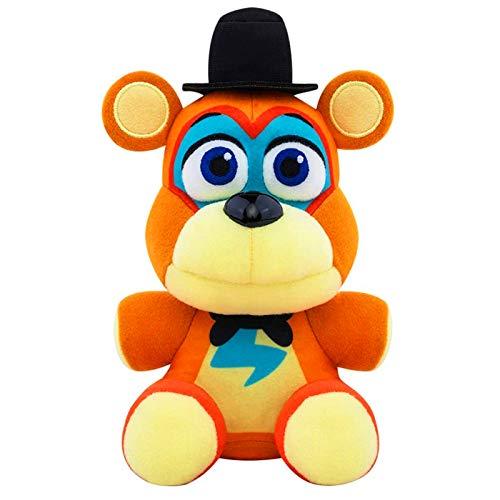 """8""""/20CM Cute FNAF Plush Set Glamrock Freddy Plush(Freddy de Glamrock)"""