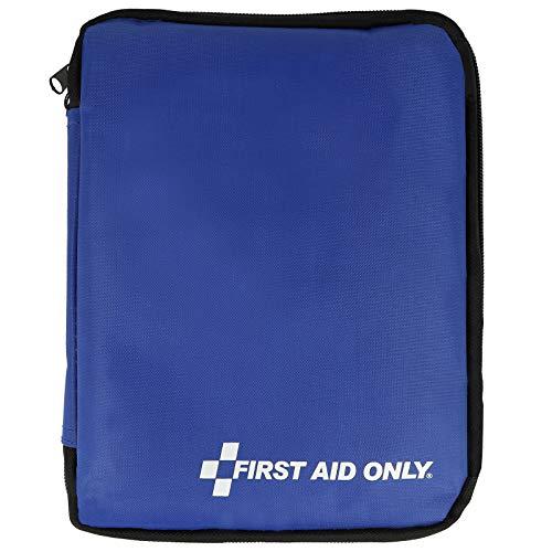 First Aid Only Erste Hilfe Tasche 50-teilig, Büro, Reise, Freizeit, klein, zum Mitnehmen, blau, P-10036