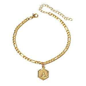 Artilady Anklet Bracelet for Women - Gold Ankles Layered Anklets Charm Boho Anklet Handmade Foot Jewelry