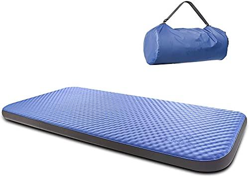 10cm Luftmatratze Selbstaufblasend, 3D Isomatte, R-Wert 9,5, TPU-Material Ungiftig, Geruchsneutral, 202×70 cm (1 Person) Matratze für Outdoor Camping, Gästebett, Auto
