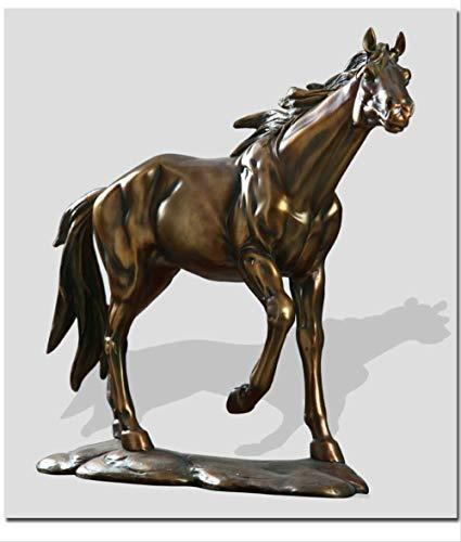 DOUYA Ornamenten Voor Woonkamer Amerikaanse Lucky Horse Ornamenten Veranda TV-kast Woonkamer Wijnkast Decoraties Thuis Ambachten Geschenken