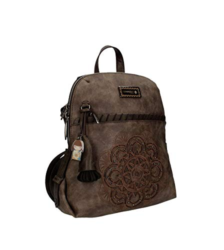 Kimmidoll Mochila Backpack marrón