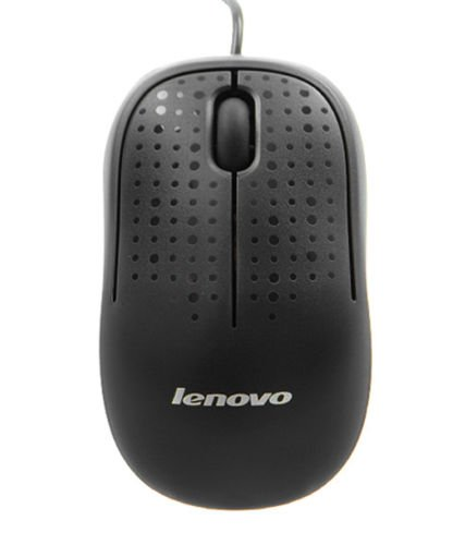 Lenovo M110 USB Optical Mouse (Black)