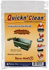 Wooster 221011 R472 Quickn Clean Wideboy Bucket Liner 5 Pack product image
