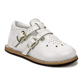 Josmo baby girls Casual First Walker Shoe White 4.5 Toddler US