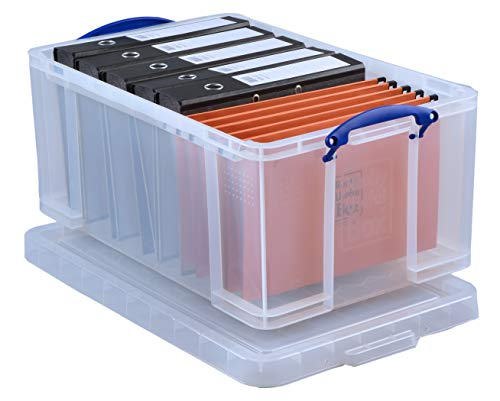 Really Useful Box 64C 64L Box Transparent 710x440x310 mm PP