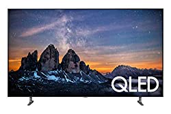 small 55-inch Samsung QLED 4K Q80 QN55Q80RAFXZA Ultra HD Flat 55-inch smart TV (with HDR and Alexa)…