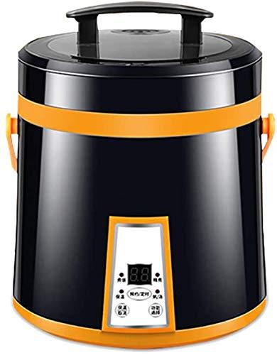 LLDKA Reiskocher, Kuchen, Frühstück Maker Hotpot Porridge Suppentopf Termin Hitze Erhaltung 1.6L