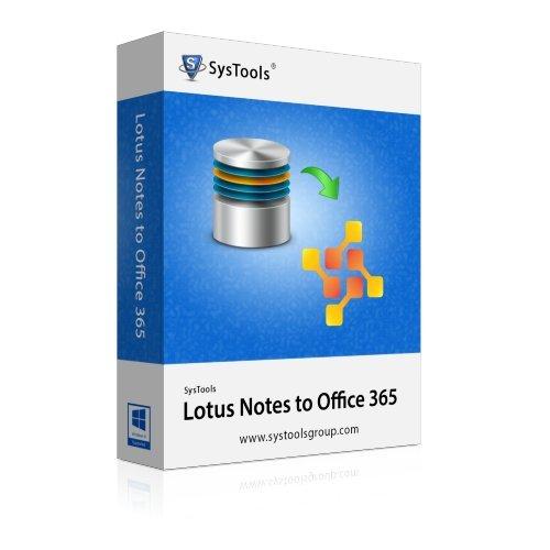 SysTools Lotus Notes à Office 365 (Livraison par courrier électronique - pas de CD)