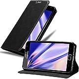 Cadorabo Coque pour Samsung Galaxy Note 1 en Noir Nuit – Housse Protection avec Fermoire...