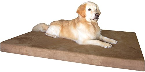 Dogbed4less XXL Orthopedic Gel Cooling Memory Foam Pet Bed