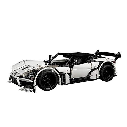 WDLY 1699 Stücke Baustein Kompatibel Mit Lego Aston Martin Sportwagen, Puzzlespielzeug Technic Super Racing...