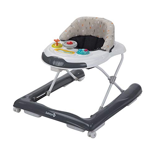 Safety 1st Bolid Trotteur Bebe Musical et Compact, Warm Grey