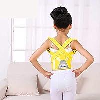 子供の姿勢補正バックサポートベルトは、背中の上部と下部の痛みを和らげます。首、背中、肩の調節可能で サポート。姿勢を改善する