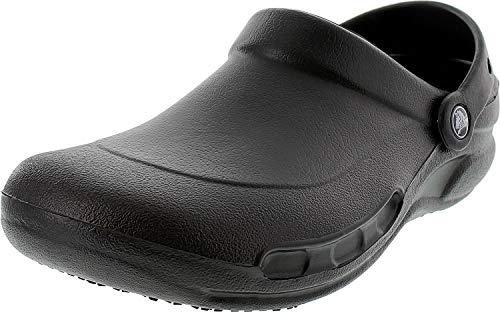 Crocs Bistro, Unisex - Erwachsene Clogs, Schwarz (Black), 46/47 EU