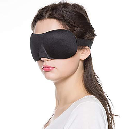JXSHQS Sleep Mask Alaska Bear Unisex Eye Shadow Sleep Shading Light Transparent Lunch Sleep Eye Protection Eye mask (颜色 Color : Purple)