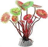 JONJUMP Plástico Artificial Acuario Plantas Decoración Sumergible Acuático Tanque Hierba Ornamento Planta Fondo Acuario