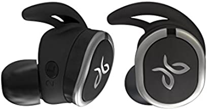 Jaybird RUN True Wireless Headphones for Running, Secure Fit, Sweat-Proof and Water Resistant, Custom Sound, 12 Hours In Your Pocket, Music + Calls (Jet) (Renewed)