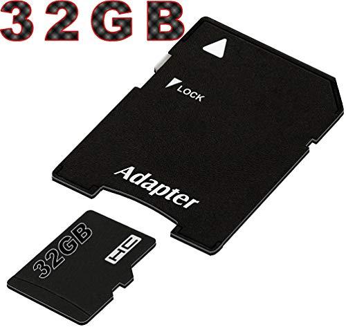 tomaxx Micro SDHC Speicherkarte für Motorola G7, Motorola G7 Plus, Motorola G7 Play, Motorola G7 Power, Huawei P Smart 2019, Honor View 20 32GB UHS-1 Class 10 Karte inkl. SD-Adapter