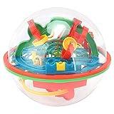 Goshyda Juego de Laberinto 3D, Rompecabezas de Bolas de Laberinto, barreras desafiantes, Enigmas mágicos educativos, Regalo de Juguetes para niños