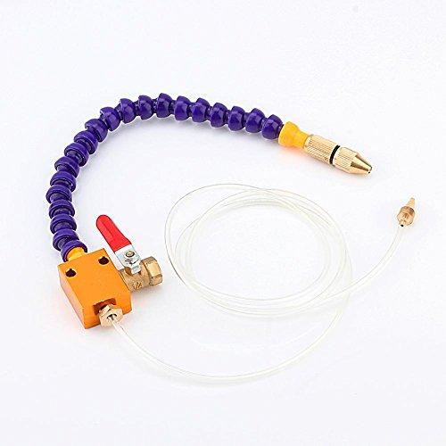 Akozon Sistema de refrigeración por Niebla Sistema de pulverización de lubricación de refrigerante para Taladro de Molino de Torno CNC de tubería de Aire de 8 mm