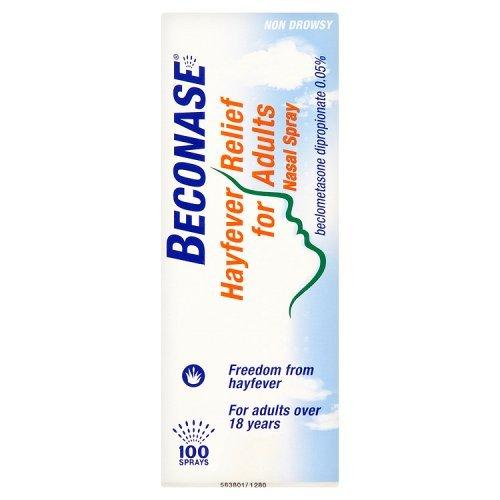 Beconase Hayfever Relief Nasal Spray 8-in-1 Effective Relief for Allergy...