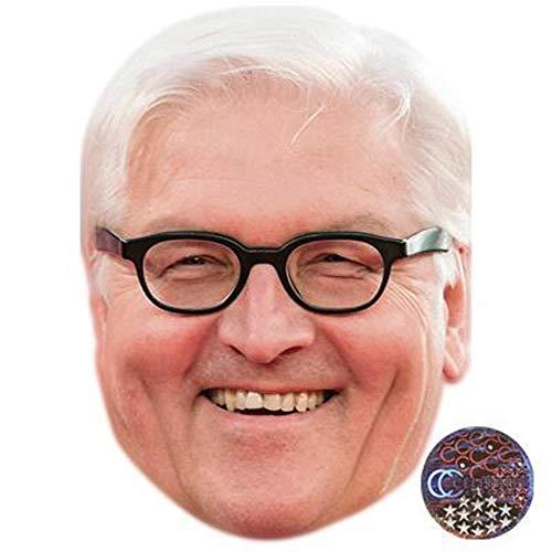 Celebrity Cutouts Frank-Walter Steinmeier Maske aus Karton