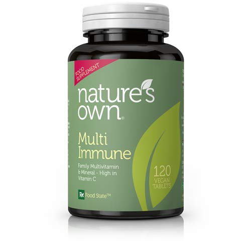 Nature's Own Multi Immune Multivitamins-120 Vegan Tablets
