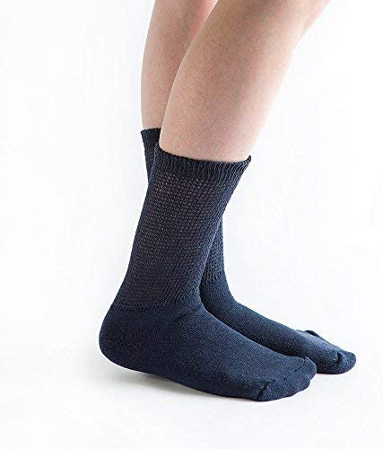 Doc Ortho Loose Fit Discount mail order Diabetic OFFicial store 6 Crew Socks Pairs