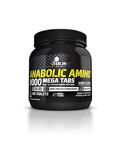 Olimp Anabolic Amino 9000, 300 Mega Tabs (2er Pack)