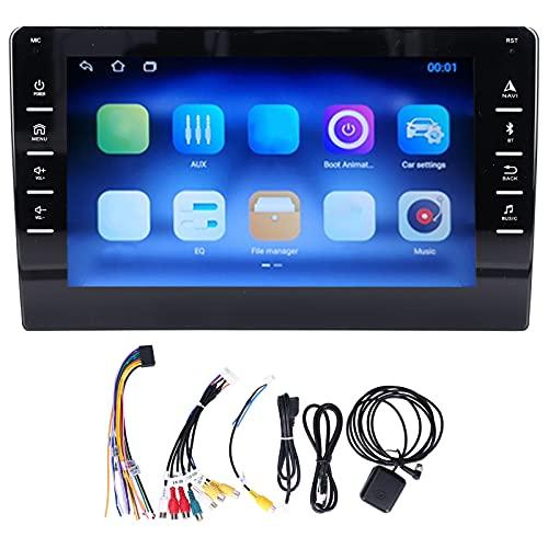 Estéreo para automóvil, reproductor de radio para automóvil, navegación GPS estéreo para automóvil de 8 pulgadas para Android10.0 Wifi Radio FM Reproductor multimedia Pantalla táctil capacitiva(2+32G)