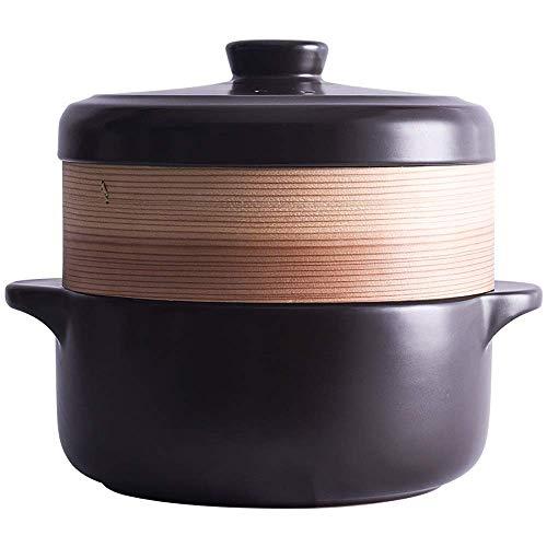 Chef Classic Cazuela de cerámica Olla de vapor Olla de vapo