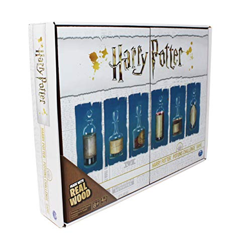 Harry Potter, Potions Challenge Game Deluxe Wooden Edition for Kids, Teens, and Adults