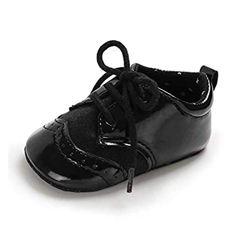 Infant Boy Black Shoes