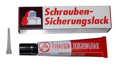 Schraubenlack; Siegellack; Schraubensicherungslack