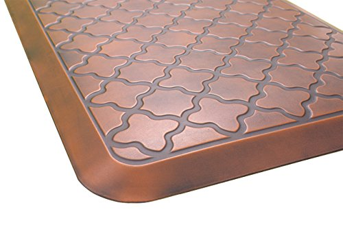 Butterfly Anti-Fatigue 24 by 70 Inch Quatrefoil...