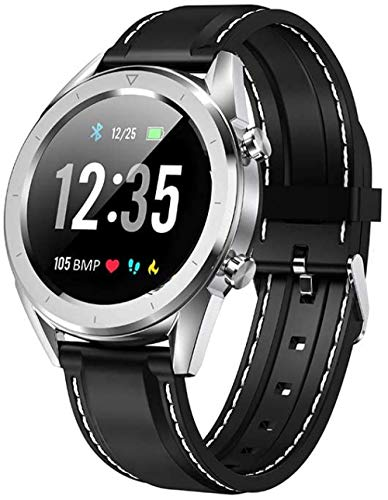 JWCN Fitness wasserdichte Uhr EKG Blutdruck Blutdruck Sauerstoff Sauerstoff Herzfrequenz Überwachung Höhendruck Wetter Sport Smart Watch Kompatibel mit Android und IOS B.-D. Uptodate