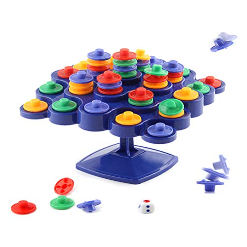 Schimer bouwstenen speelgoed, houten bouwstenen Pisa Tower Balancing Flying Chess Game, educatief speelgoed, balancing Top Tower speelgoed, kinderen educatief speelgoed bordspel Desktop