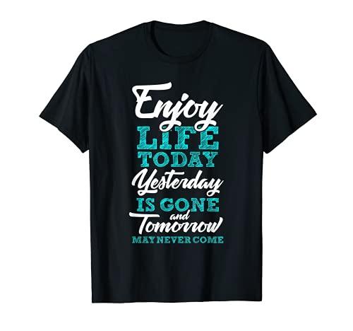 Dichos filosóficos sabiduría de la vida frase de la vida Camiseta
