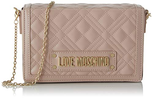 Love Moschino Jc4054pp1a, Borsa a Tracolla Donna, Rosa (Rosa), 5x13x20 cm (W x H x L)