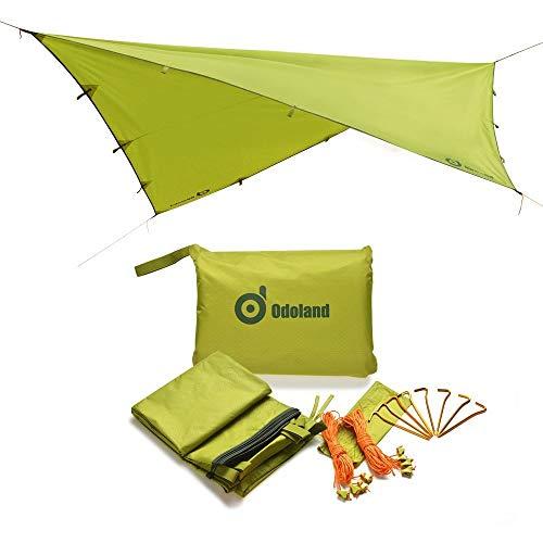 Odoland Camping Tent Tarps, Tarp Shelter
