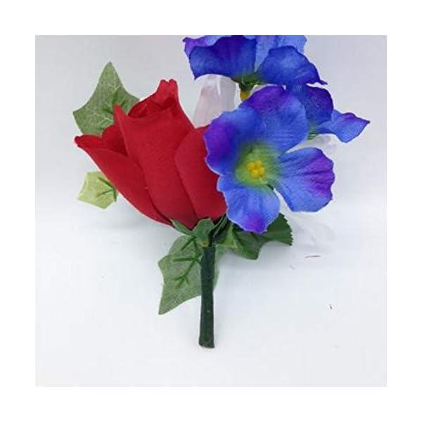 Memory Lane Memorials Niche DIY Crypt Silk Flower Rose Delphinium Ivy