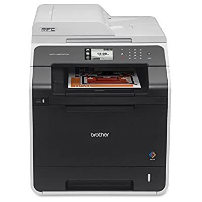 Brother Printer MFCL8600CDW Wireless Color Printer with Scanner, Copier and Fax